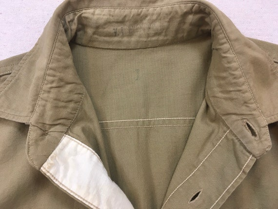 1960's, Staff Sergeant, Military shirt, in khaki - image 3