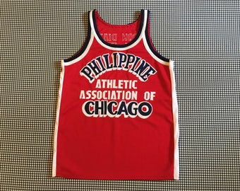 Philippine Athletic Association of Chicago, nylon, basketball jersey, Women's size Small