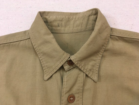 1960's, Staff Sergeant, Military shirt, in khaki - image 2