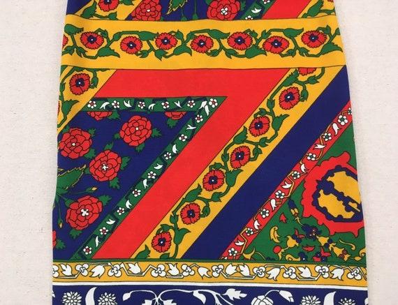 1970's, sleeveless, polyester, maxi dress, in nav… - image 7