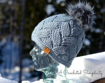 Crochet Pattern: Cross-Country Ski Slouch, Beanie, & Headwarmer Permission to sell finished items