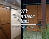 Barn Door Plans - Step By Step Building Plans For DIY Barn Doors