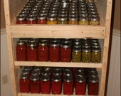 Stand Alone Canning Pantry Cabinet Using Pallets or Standard Lumber