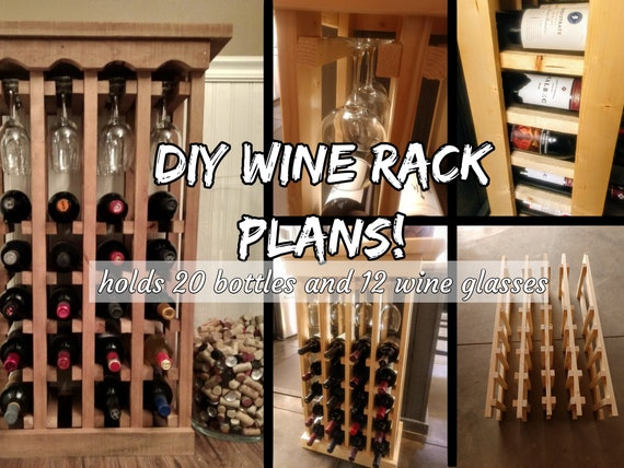 Diy Wine Rack Plans 20 Bottle 12, Diy Wine Storage