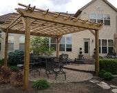 Pergola Plans: Complete Plans To Build A Garden Pergola
