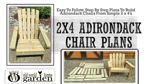 Fabulous 2X4 Diy Adirondack Chair Plans Simple Plans For A Comfortable Beautiful And Inexpensive Patio Backyard Or Fire Pit Chair Short Links Chair Design For Home Short Linksinfo