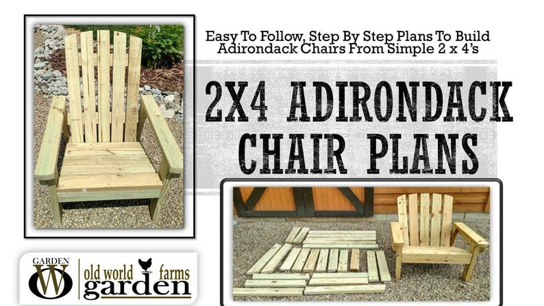 Beau 2x4 DIY Adirondack Chair Plans   Simple Plans For A Comfortable, Beautiful  And Inexpensive Patio, Backyard, Or Fire Pit Chair