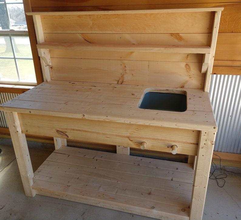 DIY Potting Bench Plans  Strong Elegant  And Easy To Make image 0