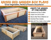 DIY Raised Bed Garden Box Plans - Simple, Strong, Beautiful - & Easy To Build!