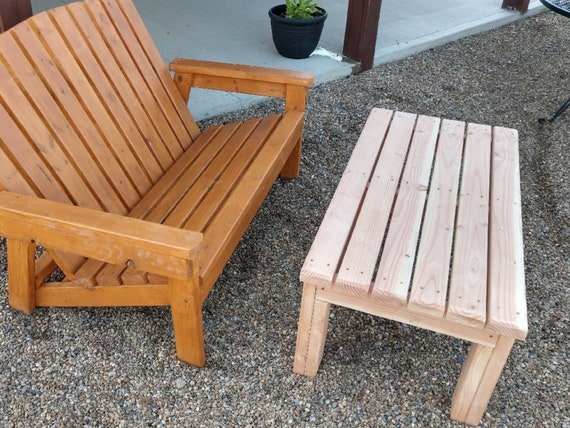 2 X 4 Outdoor Coffee Table End Table Plans