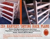 2x4 Harvest / Drying Rack Plans