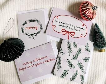 Christmas card offer - 4 Christmas cards
