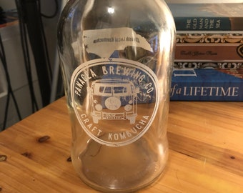 Empty Glass Panacea Brewing Bottle with 2 Dollar Shipping