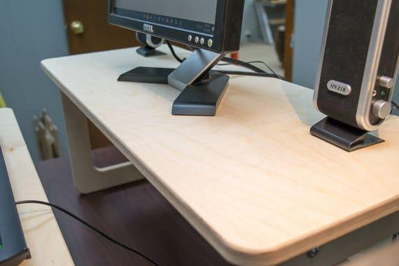 Bureau d ordinateur debout bureau debout convertisseur de bureau