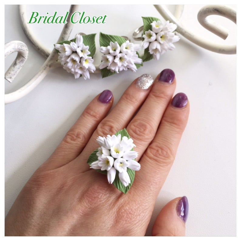 Statement Ring Bridal Ring Bridesmaids Ring Bridesmaid image 0