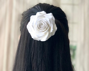 Bridal Headpiece, Wedding Headpiece, Wedding Hair Accessories, Wedding Hair Pieces, Bridal Hair Accessories, Bridal Fascinator, Rose Hairpin