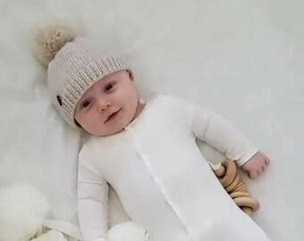 5ee05bac1ebe ... coupon code baby boy hat knit hat toddler hat newborn boy hat baby boy  gift pom