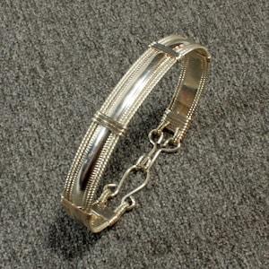 Bangle Bracelet Argentium Sterling Silver Bangle Bracelet Opal Bangle Bracelet Sterling Silver Bangle ADJUSTABLE OPAL BRACELET