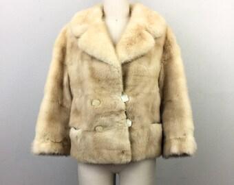 Vintage 60s MINK Coat Fur jacket M