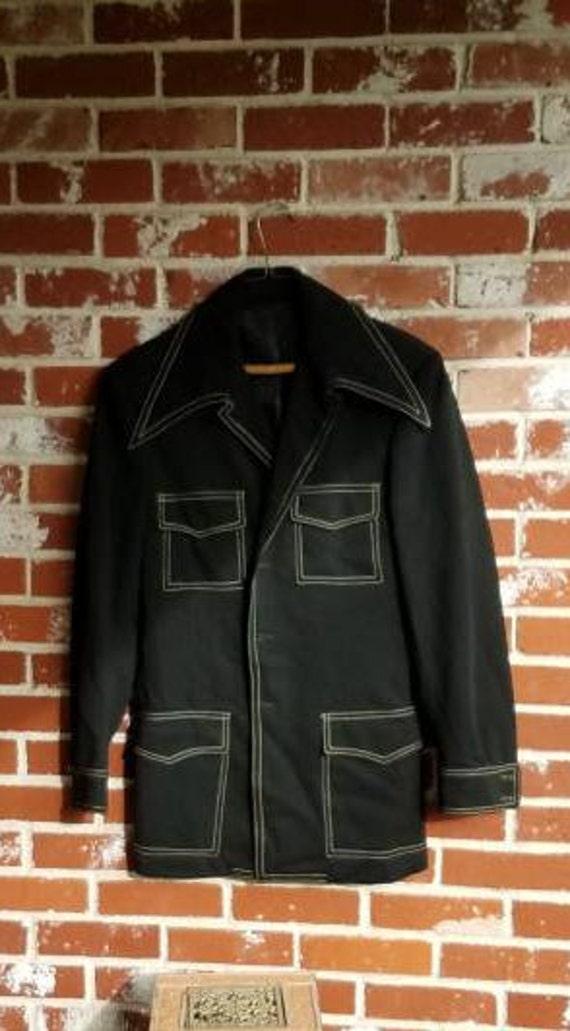 Fab Vintage 70s Mens Leisure Jackets MOD Custom Ma
