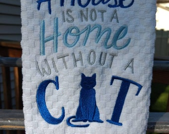 Cat Lovers Kitchen Towels I Love Cats Cats Gift For Cat Lovers Cat Towel  Kitchen Towels With Cats. Cat Home. Cat House Cat Kitchen Towel