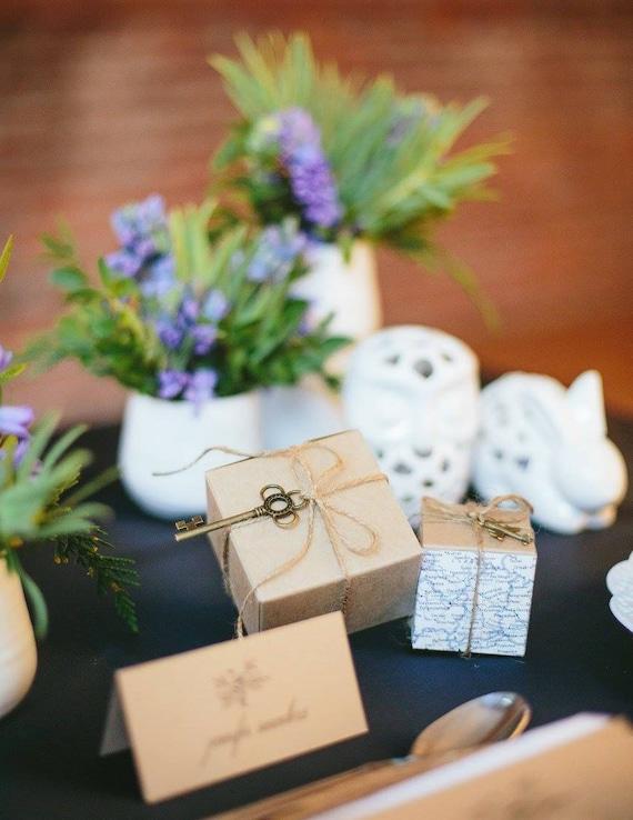 skeleton key wedding key favors rustic wedding favors Alice | Etsy