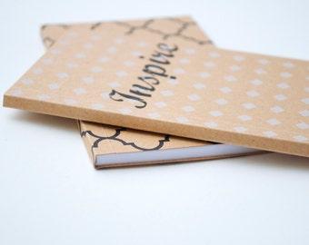 Stocking stuffer, notebooks, craft notebook, Christmas gift, Sketchbook, Blank journal, mini notebook, secret santa gift, inspirational