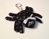 Fabric Spider keychain, ornament, accessory