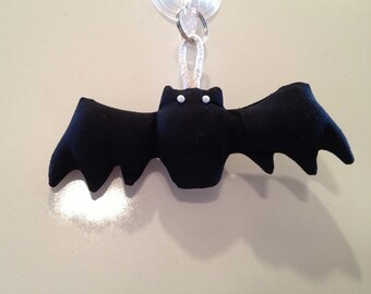 Fabric Bat keychain, ornament, accessory