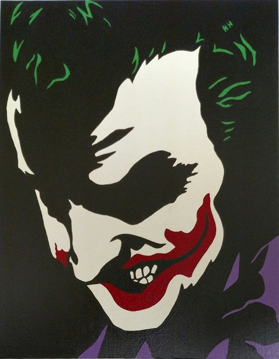 Joker Hand Painted