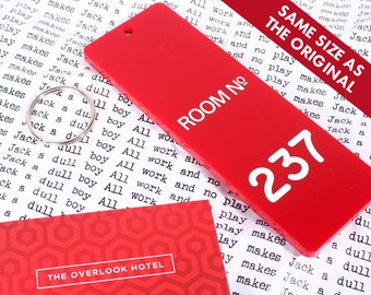 Room 237 - The Overlook Hotel Key Fob - Inspired by The Shining