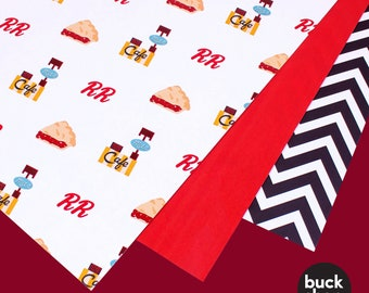 Twin Peaks inspired Wrapping Paper