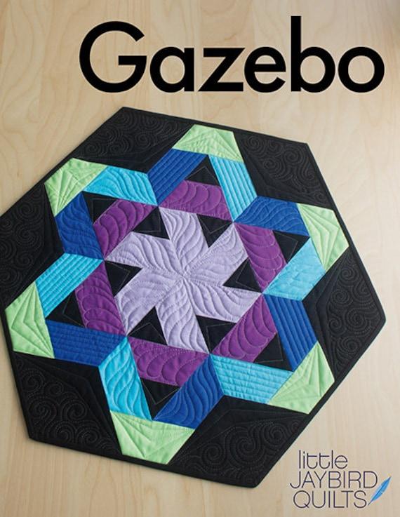 Pattern Gazebo Table Topper By Jaybird Quilts Etsy