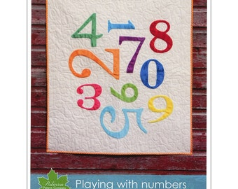 "Pattern ""Playing With Numbers"" by Robinson Pattern Company (RPCP313) Paper Pattern"