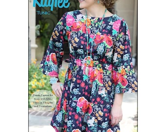 Pattern - Kaylee Tunic, Blouse, Top Paper Sewing Pattern by Serendipity Studio (SDG150)