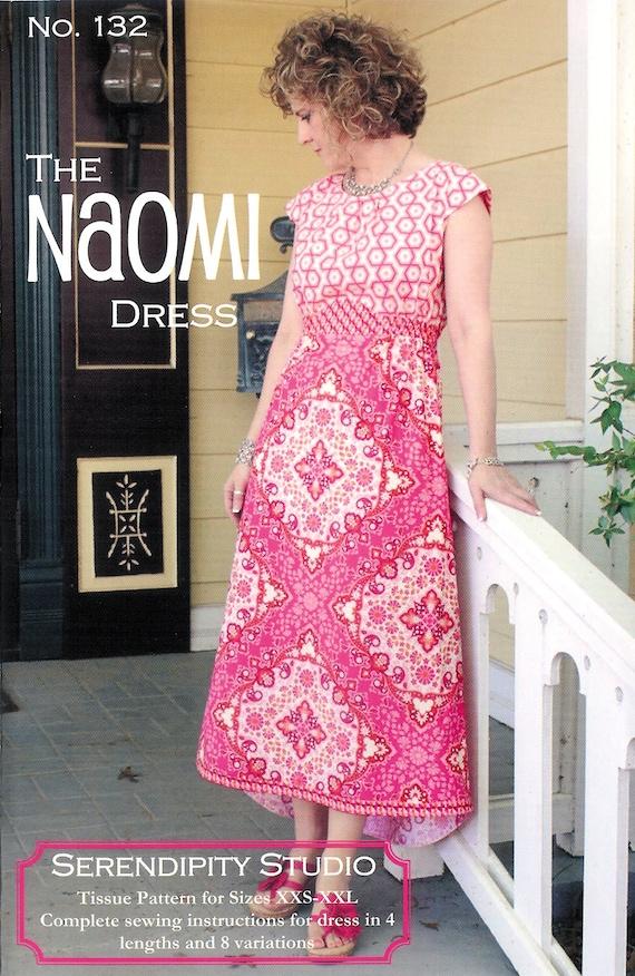 Muster Papier Naomi Dress Schnittmuster von | Etsy