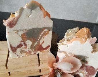 Natural Patchouli Orange Soap, Patchouli and Orange Soap, Essential Oils