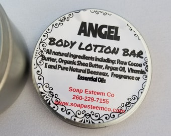 All natural Body Lotion Bar, Body Butter bar, Silky skin bar, After shower bar, Unique gift for the Spa lover