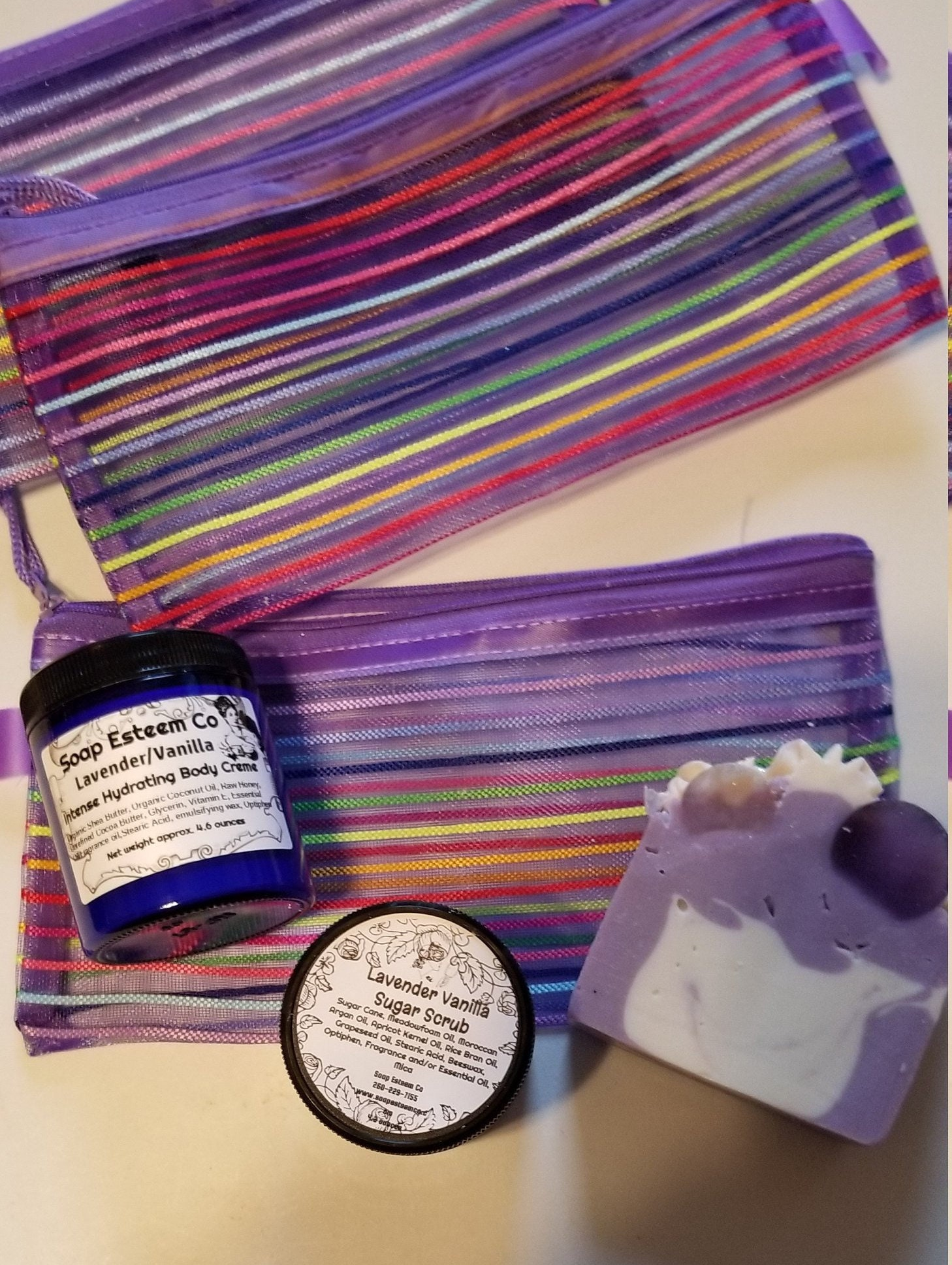 Spa gift Sets, Relaxation Skin Care gift set, Party favors in a