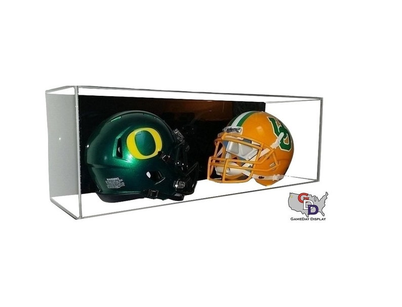 Sports Mem, Cards & Fan Shop Autographs-original Custom Football Display Case Acrylic Wall Mount Create Your Text Gameday Display