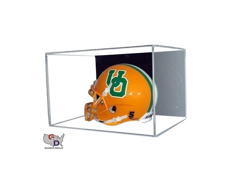 Display Cases United Curved Acrylic Wall Mount Full Size Football Helmet Display Casenfl Ncaa