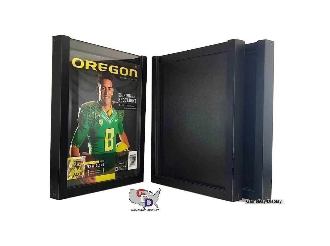 Magazine Standard Display Frame Case Black Shadow Box Lot