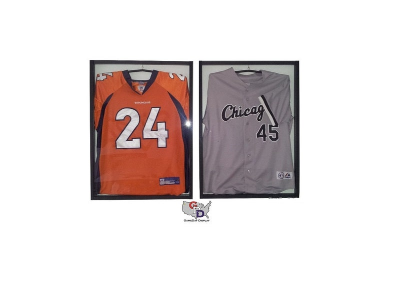 Jersey display case for football, baseball, basketball, hockey, autographed  jersey -2- WHE