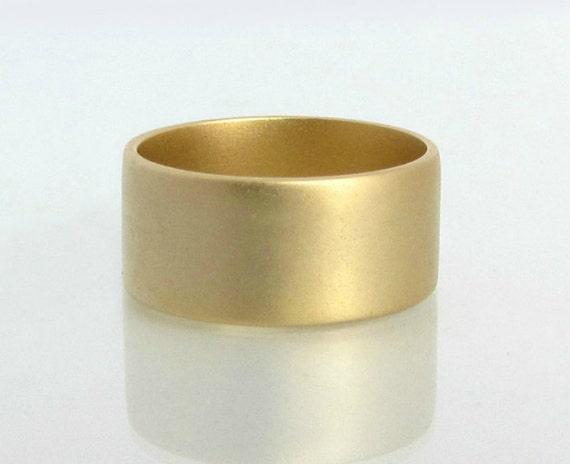 Super Brede trouwring trouwringen vrouwen brede gouden ring brede | Etsy PP-22