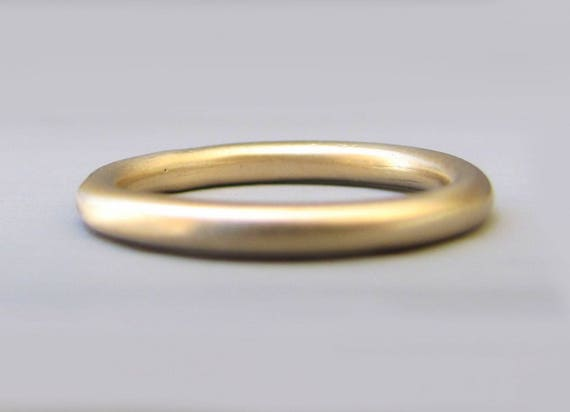 Runde Ehering Stapeln Ehering Gold Hochzeit Band Grundlegende Trauringe Dünne Hochzeit Band Klassische Eheringe Dünnen Sie Goldenen Ring