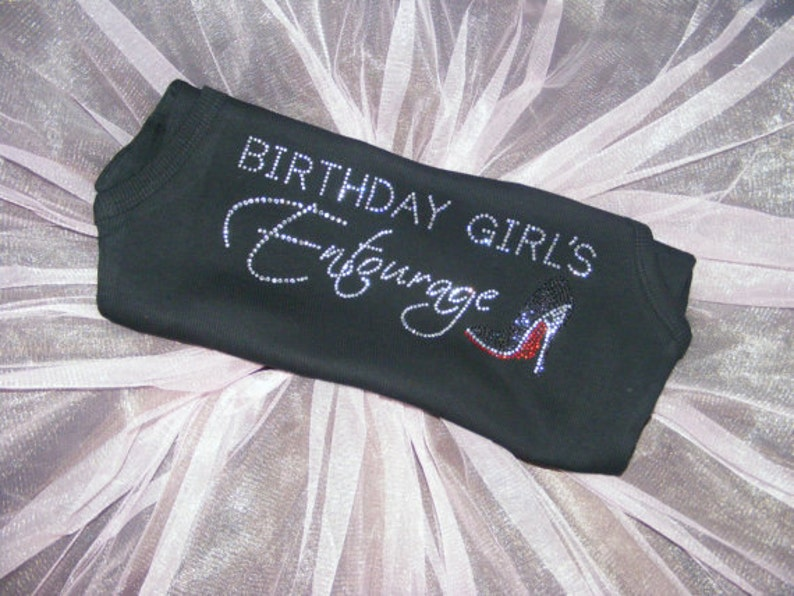 5 Adult Birthday Iron Ons DIY Shirts Girl