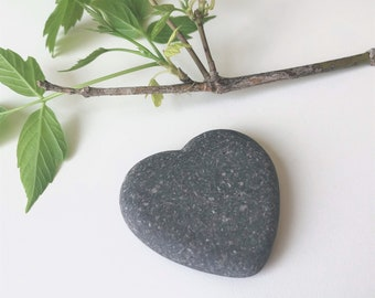 Heart of Stone#2  Natural Heart Shaped Stone in Heart Shape Frame