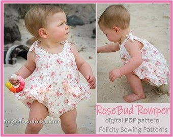 364eefbafaf Baby girl s ruffled romper