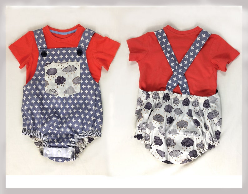 cd303d98751b Baby Romper pdf sewing pattern