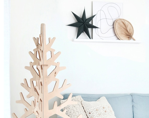 Plywood Christmas Tree, cnc route file, cnc digital file
